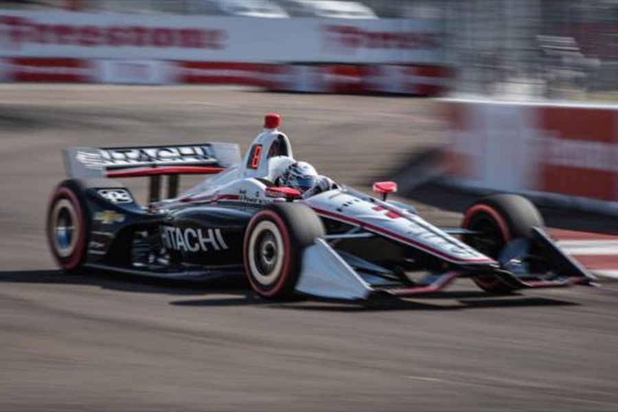 Josef Newgarden IndyCar Series St. Petersburg