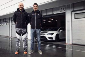 PWR Racing Daniel Haglöf and Mikel Azcona