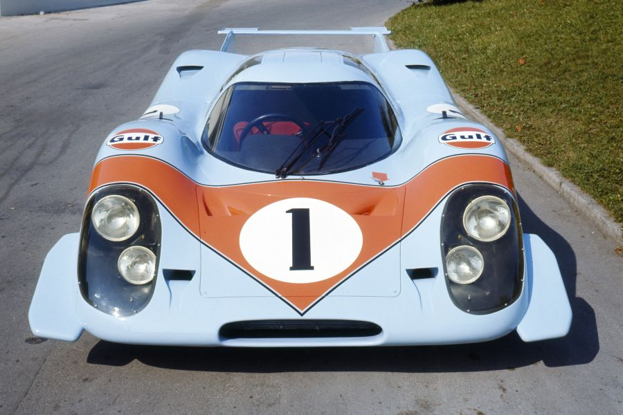 Porsche 917-001 in Gulf colours