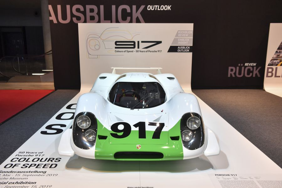 Porsche Museum 2019, Porsche 917-001