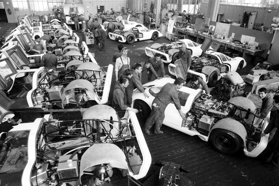 Porsche 917 factory