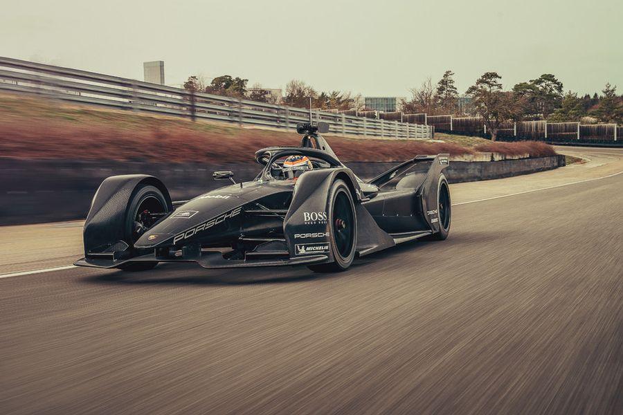 Porsche Formula E test