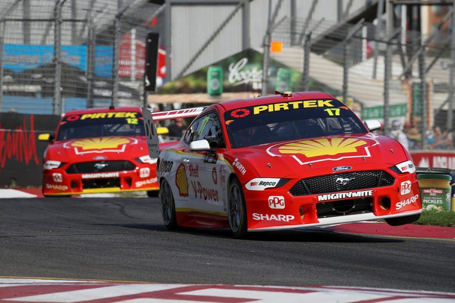 2019 Supercars, Adelaide 500, Ford Mustangs