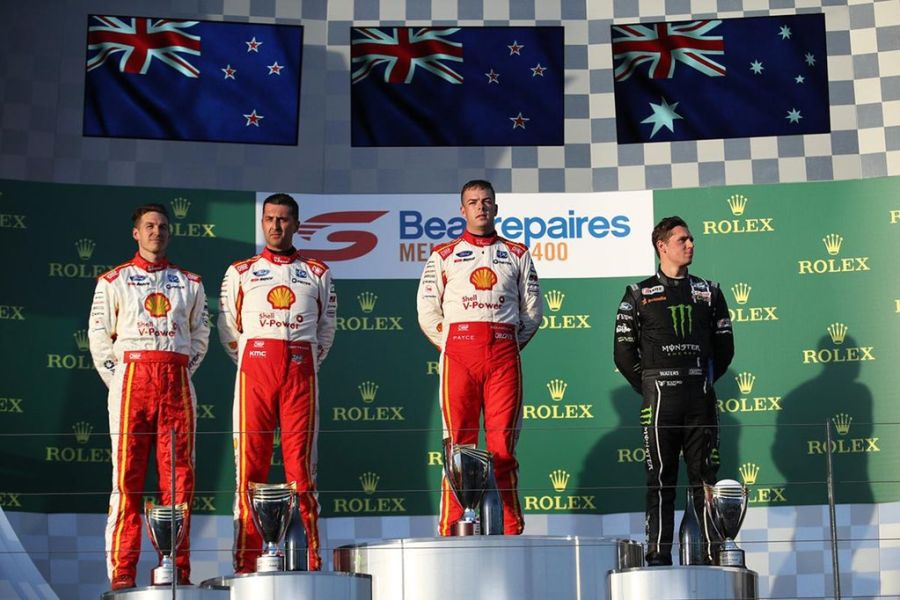 Supercars Championship, Melbourne 400 podium Race 1