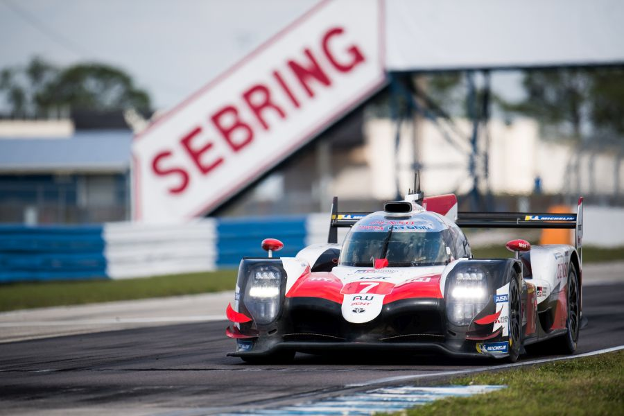 TOYOTA GAZOO Racing, World Endurance Championship. 1000 Miles of Sebring