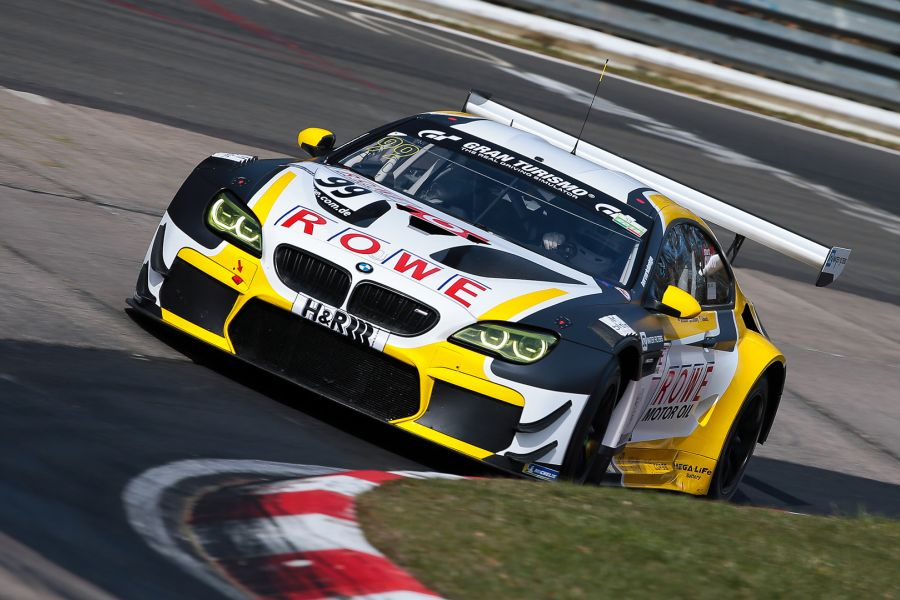 Rowe Racing #99 BMW M6 GT3, VLN round 1 65th ADAC Westfalenfahrt