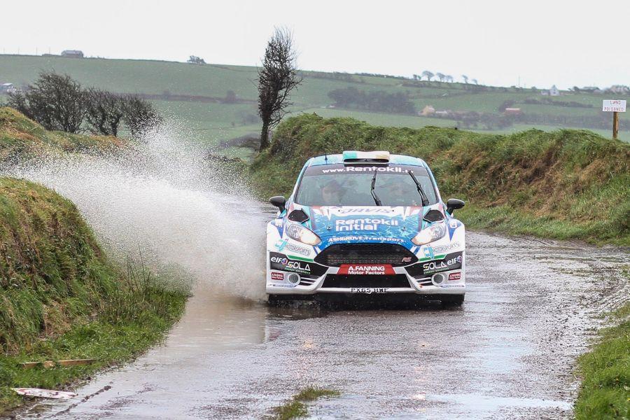 Craig Breen at West Cork Rally