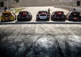 World RX cars grid