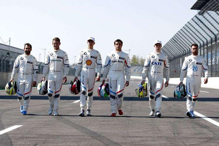 2019 DTM BMW drivers