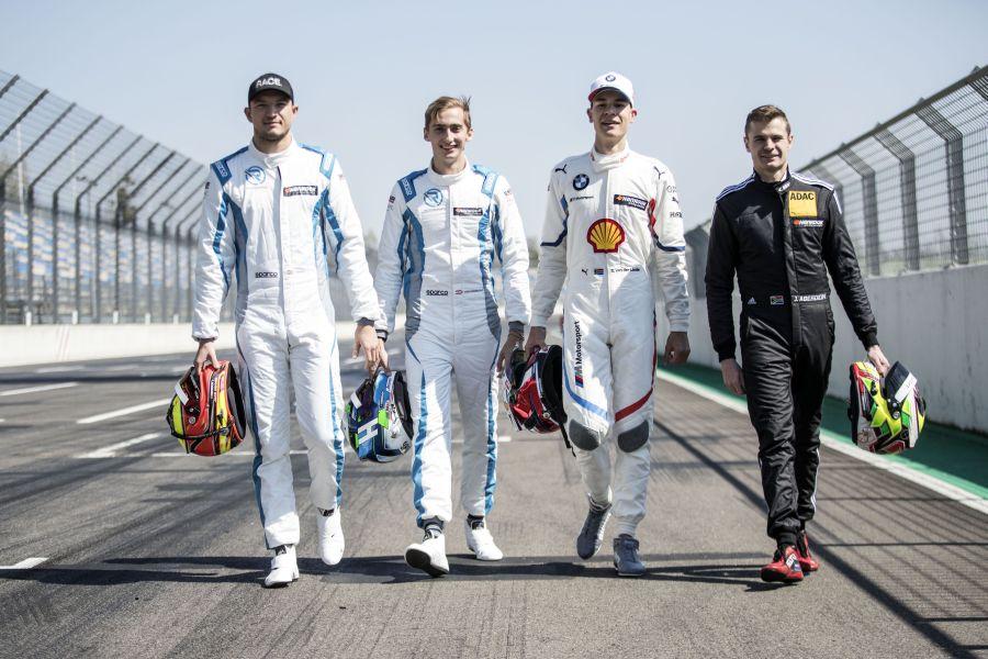 DTM Lausitzring Test 2019 rookies
