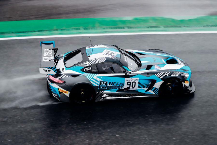 Monza, #90 Mercedes Akka ASP