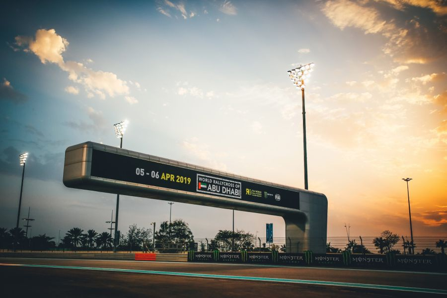Yas Marina Circuit is hosting the opening round of the 2019 World RX season