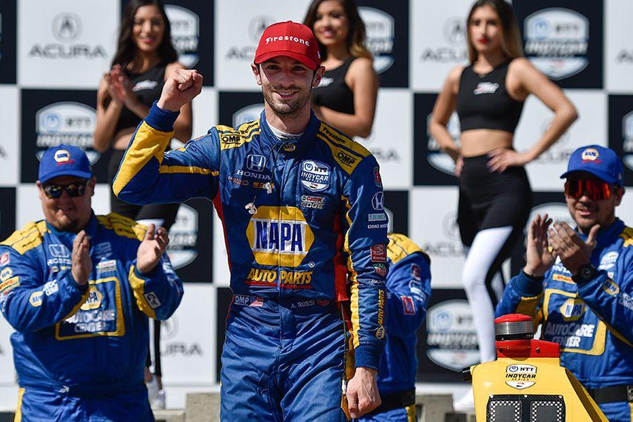 Alexander Rossi, Grand Prix of Long Beach