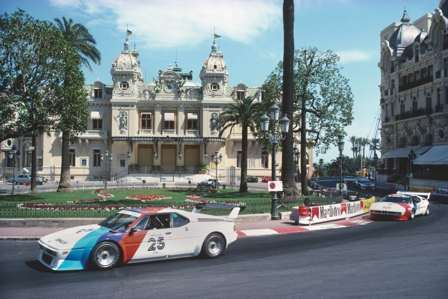 BMW M1 Procars at the streets of Monte Carlo in 1979