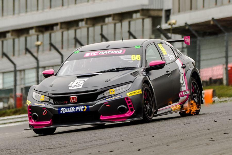BTCC Brands Hatch Josh Cook Honda