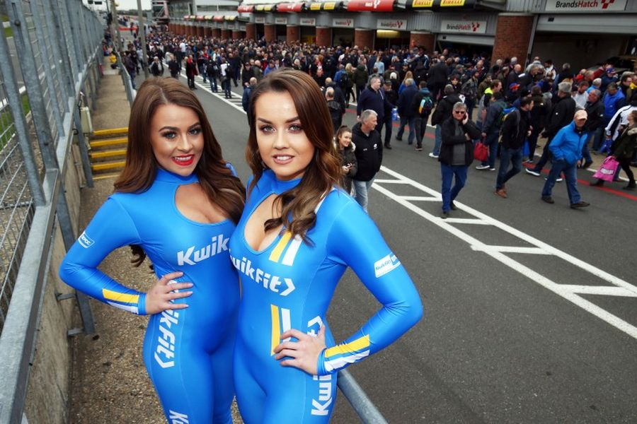 BTCC Kwik Fit grid girls