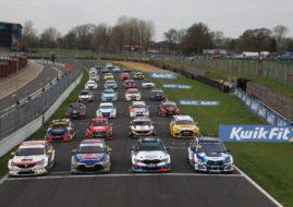 2019 BTCC grid shot