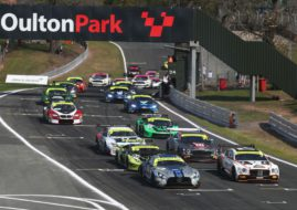 British GT Oulton Park race 1