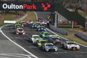 British GT Oulton Park race 1