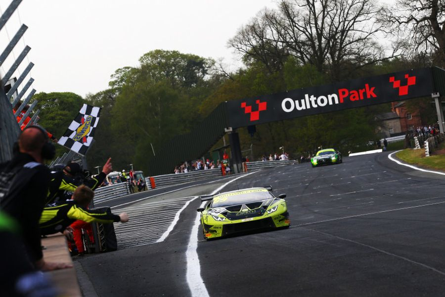 British GT Oulton Park Race 2