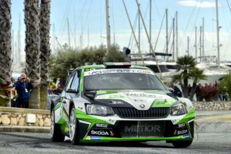Craig Breen Škoda Sanremo