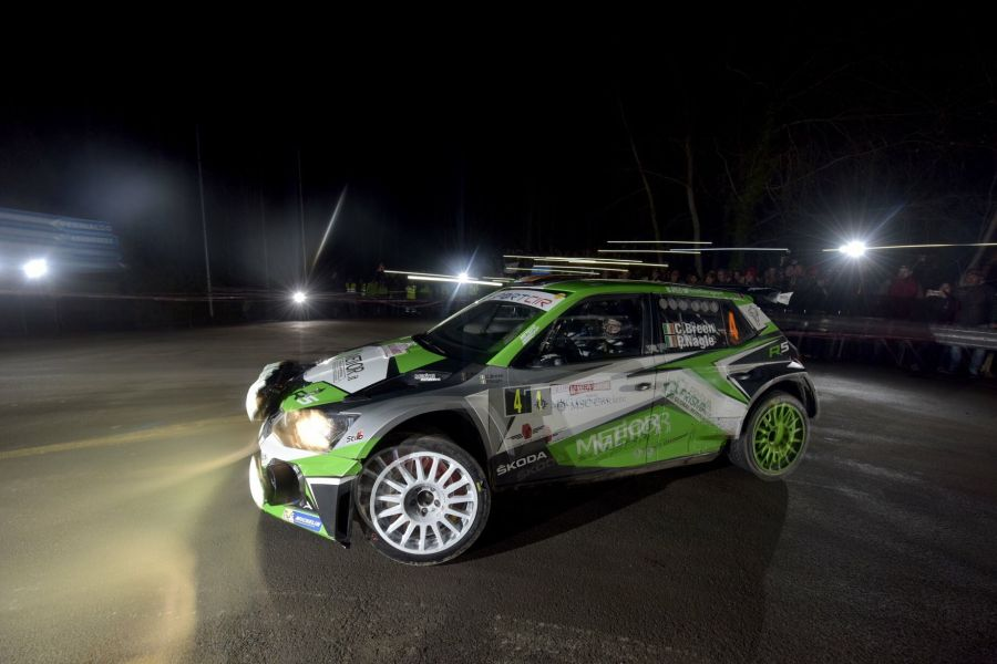 Craig Breen at Rallye Sanremo