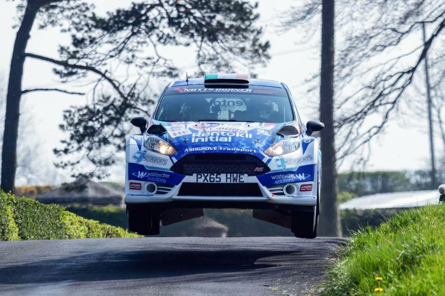 Craig Breen Easter Stages Rally