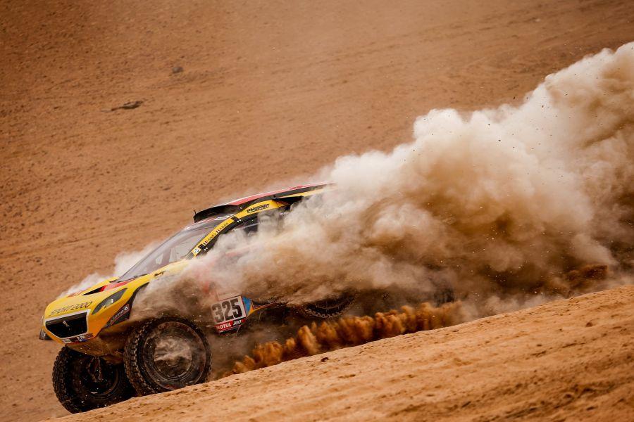 Dakar Rally car