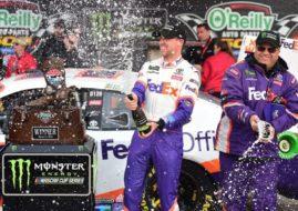 Denny Hamlin wins at Texas