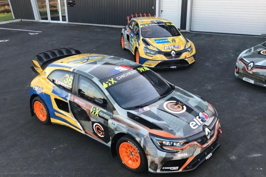 GCK Kompetition's cars for 2019 World RX season