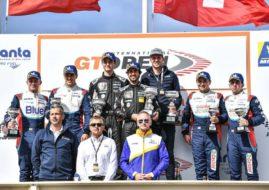 International GT Open Paul Ricard race 1 podium