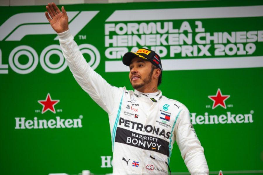 Lewis Hamilton Chinese Grand Prix