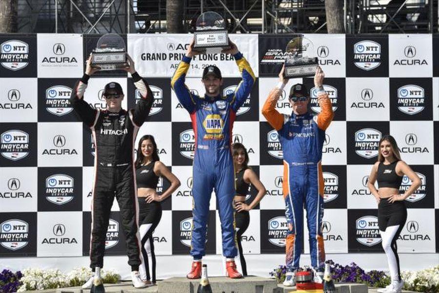 Long Beach podium