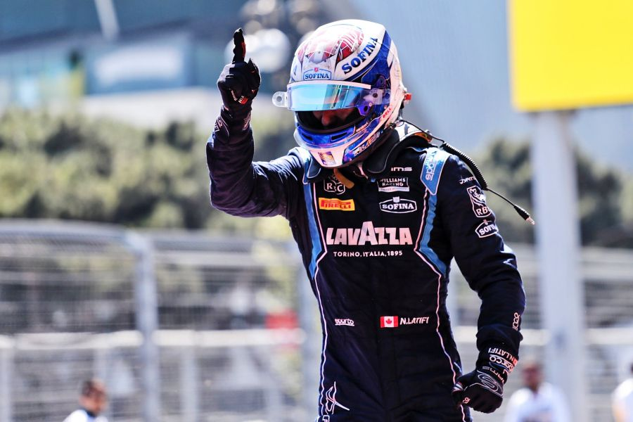 Formula 2, Baku, Nicholas Latifi
