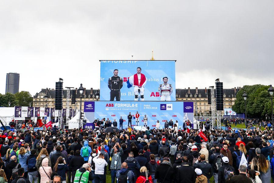 Paris ePrix podium