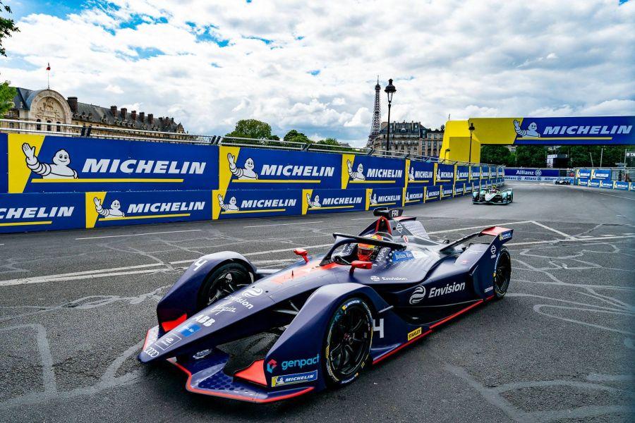 Robin Frijns, Formula E, Paris ePrix