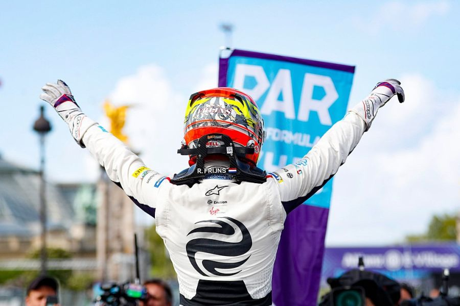 Robin Frijns Paris ePrix