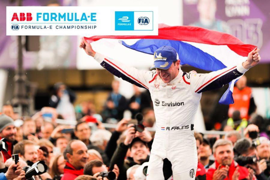 Robin Frijns, Paris ePrix winner