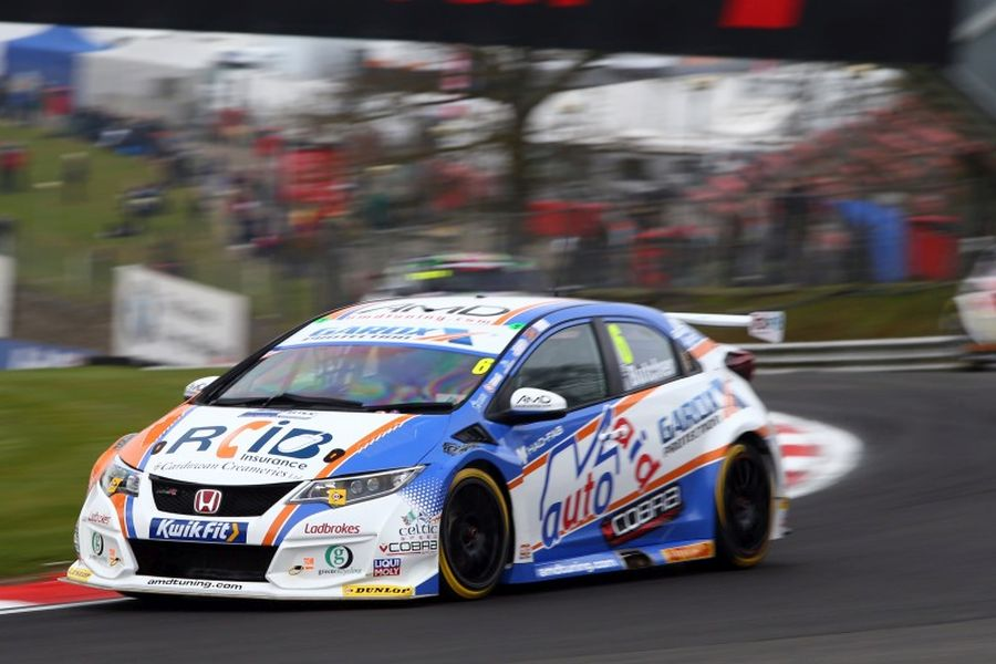 Rory Butcher in the #6 Honda