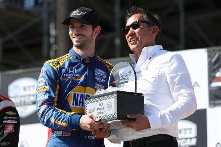 Grand Prix of Long Beach, Alexander Rossi wins