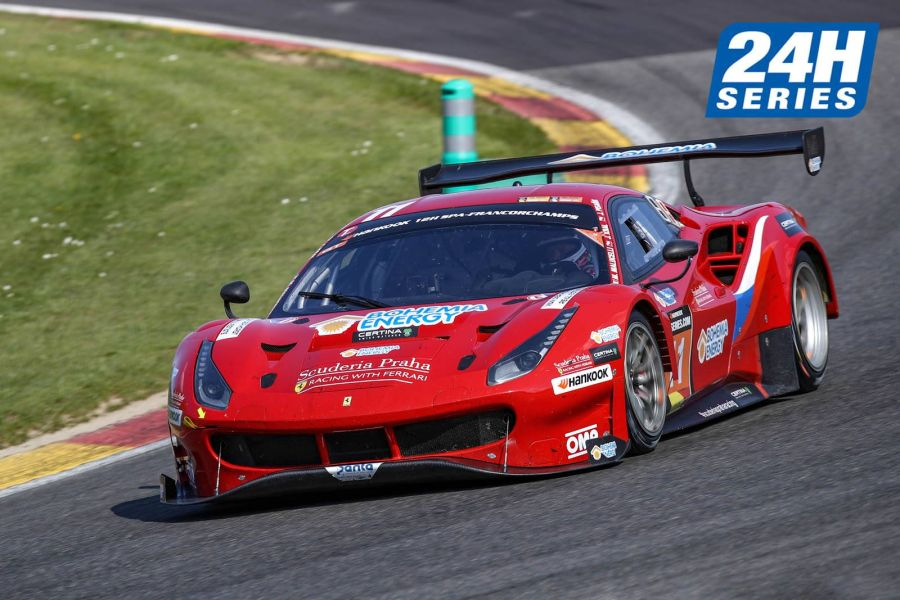 2019 24H Series, 12H Spa, Scuderia Praha Ferrari 488 GT3