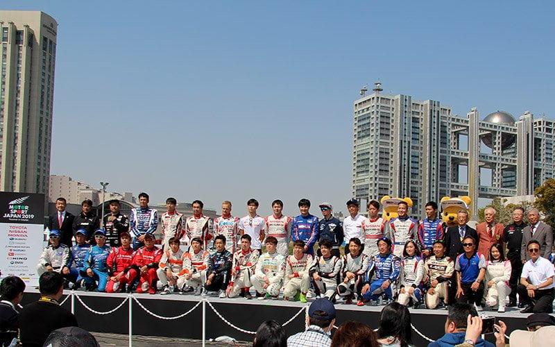 Super GT drivers ahead of 2019 season