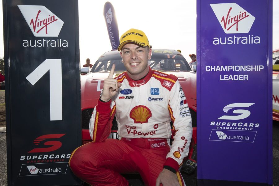 Tasmania SuperSprint, Symmons Plains Raceway, race 1 winner Scott McLaughlin