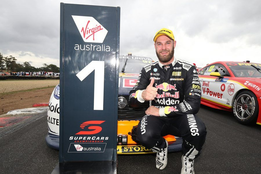Tasmania SuperSprint, Symmons Plains Raceway, race 2 winner Shane van Gisbergen