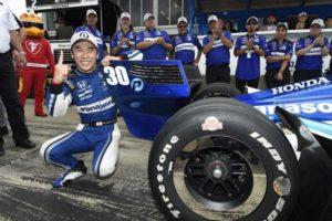Takuma Sato, Grand Prix of Alabama