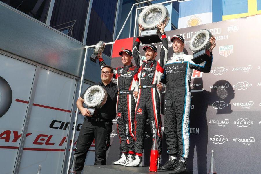 WTCR Morocco race1 podium