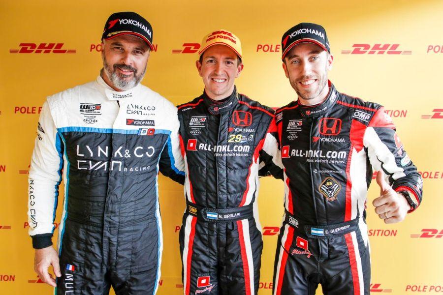 Yvan Muller, Nestor Girolami and Esteban Guerrieri