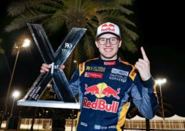 World RX Abu Dhabi Kevin Hansen winner