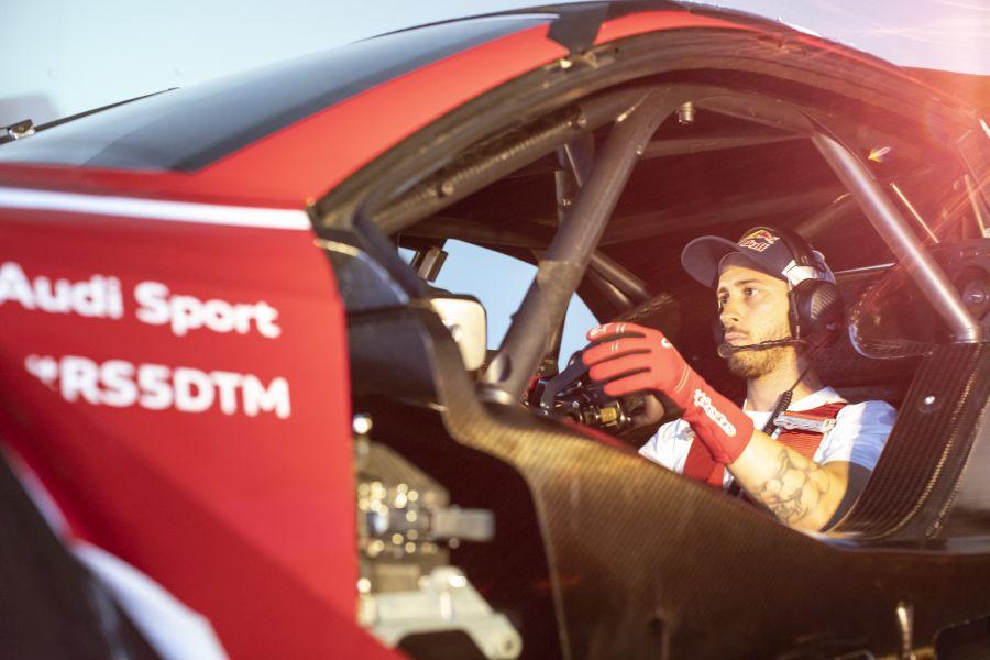 Andrea Dovizioso Audi RS5 DTM