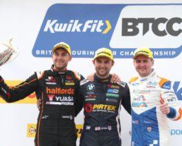 BTCC at Thruxton: Two wins for Jordan, third trophy went to Cook